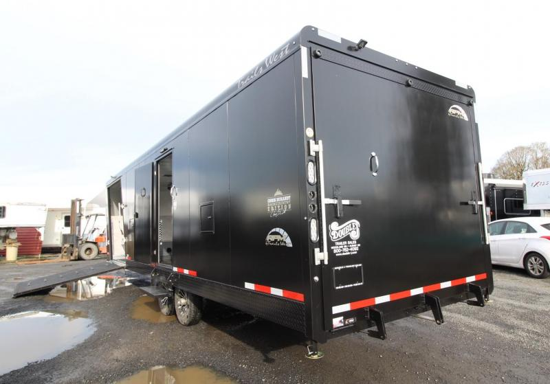 2020 Trails West RPM Burandt Edition 28' Snowmobile Trailer W/ Furnace - Track Melt and much more PRICE REDUCED $1050
