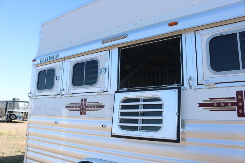 2021 Platinum Coach 4H BP Horse Trailer