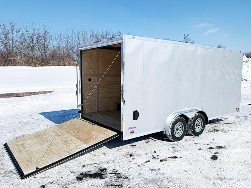 Continental 7.5x18 Enclosed UTV/ATV Cargo Trailer - 7' Interior