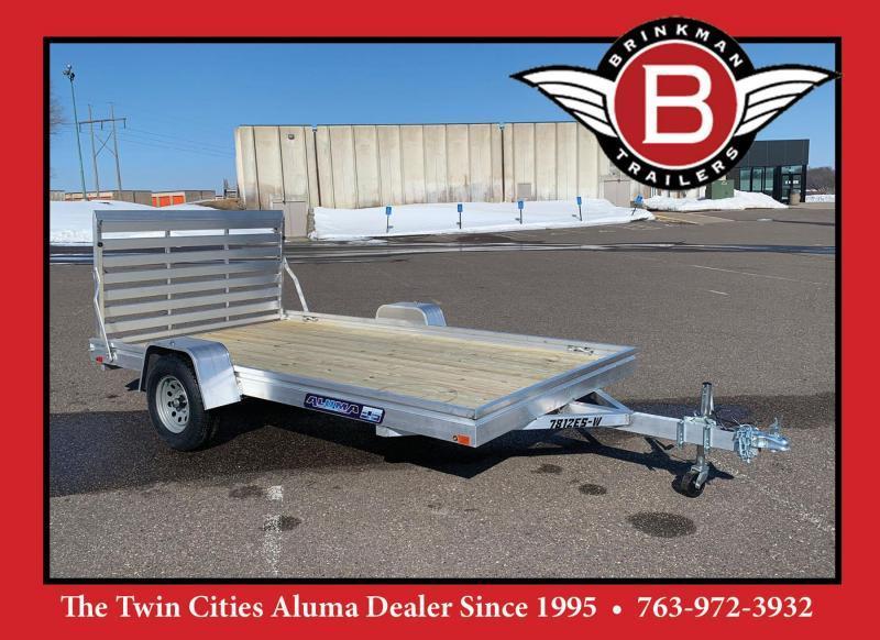 Aluma 7812 ES-W Aluminum Trailer - 2990# GVWR - PROMO PRICE!