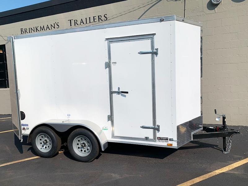 Continental Cargo 6x12 Tandem Axle Trailer - 7' Int. - 7,000# GVWR!