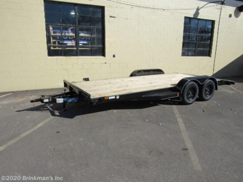 "2020 - Top Hat 83""x18' car trailer 7k"