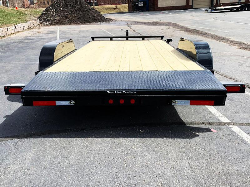 Top Quality Top Hat 83x18 Car/Equipment Hauler - Tuck Under Ramps - 9,990# GVWR!
