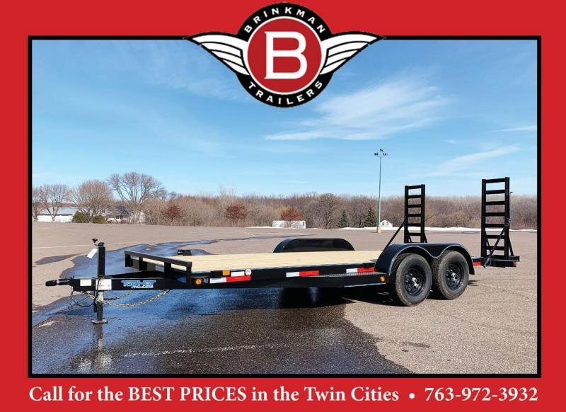 Top Hat 83 x 20 Car/Bobcat Hauler - 14,000# GVWR