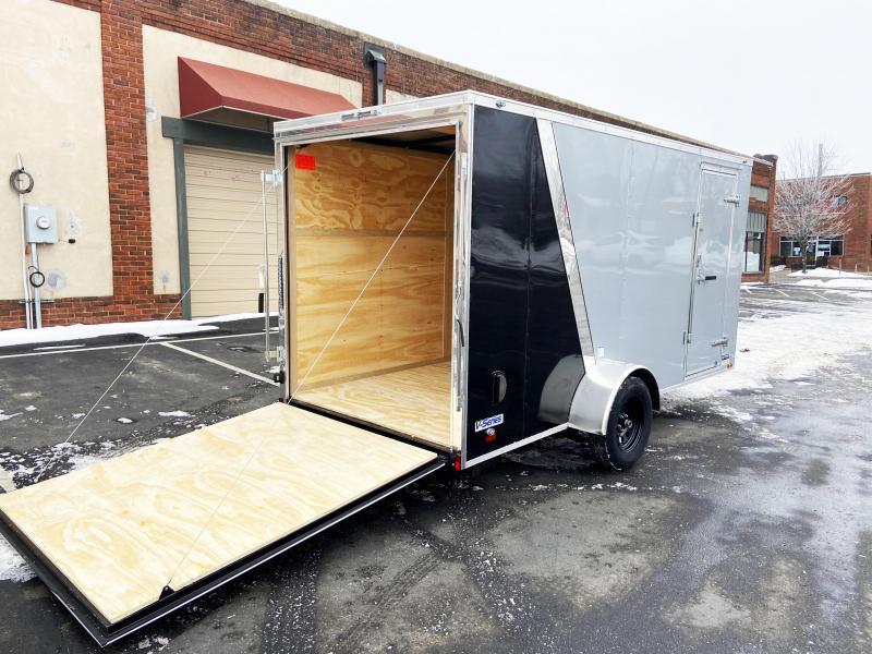 Continental 6x14 Enclosed Cargo Trailer - Rear Ramp - Perfect for ATVs