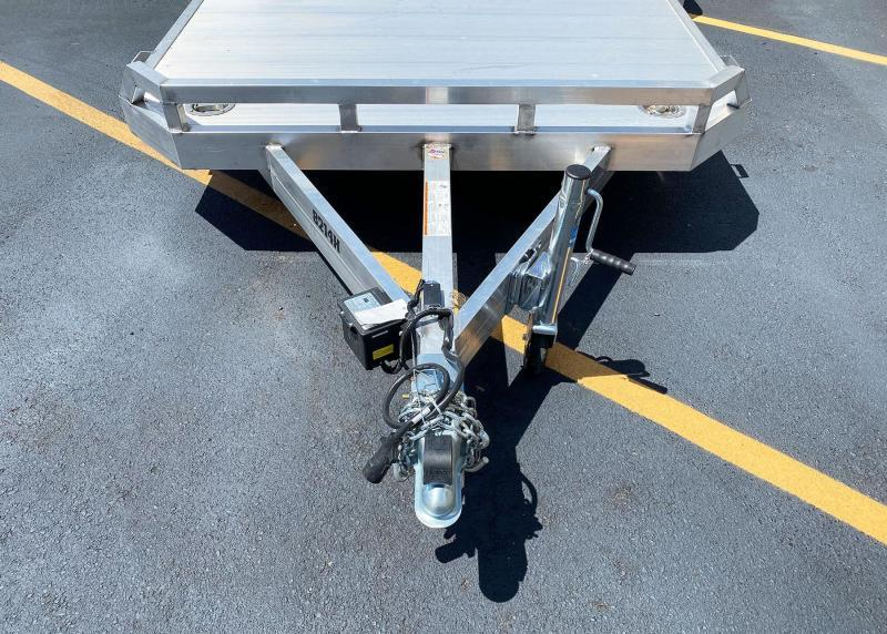 Aluma 8214H (82'x14') Heavy Duty Aluminum Trailer - 5,200# GVWR!