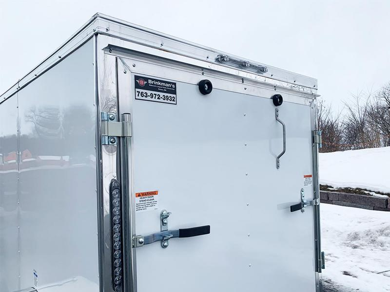 Continental Cargo 5 x 8 V-Nose Enclosed Cargo Trailer - Fantastic Buy!