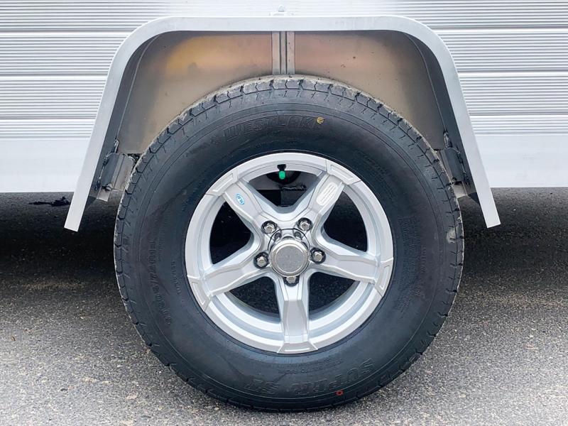 Aluma 8114 SR (81x14) Aluminum ATV Trailer - Side Ramps!