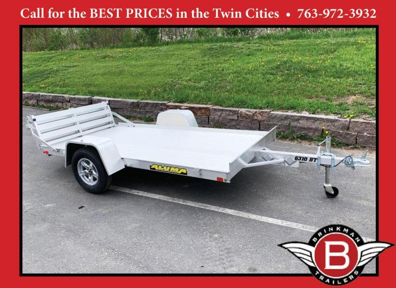 Aluma 6310S-BT Open Utility Trailer - Bi-Fold Ramp - All Purpose!