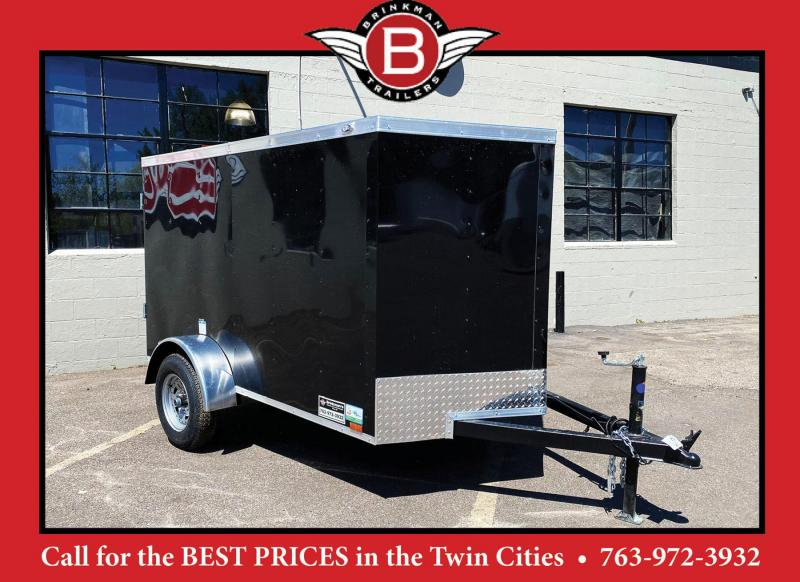 Continental Cargo 5x8 Enclosed Trailer - Rear Ramp!