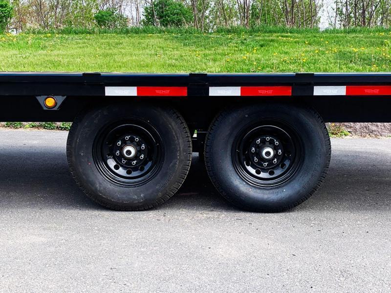 Top Quality Top Hat 101x20 Deck Over Car/Equipment Hauler - Tuck Under Ramps - 14,000# GVWR!