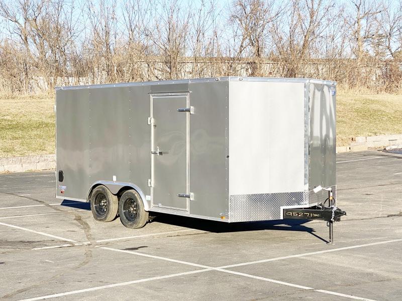 Continental Cargo 8.5x16 Enclosed Cargo Trailer w/Ramp Door