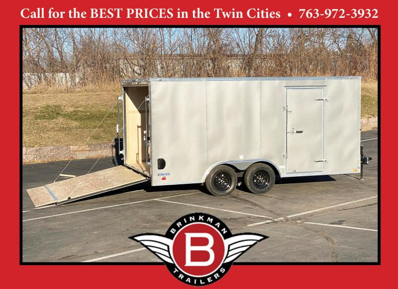Continental Cargo 8.5x16 Enclosed Cargo Trailer w/Ramp Door