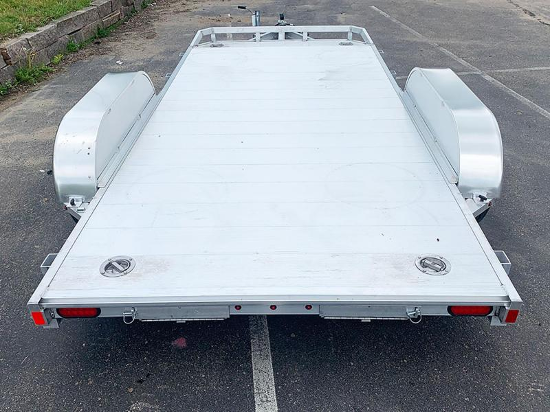 Aluma 8214H (82'x14') Heavy Duty Aluminum Trailer - 9,900# GVWR!