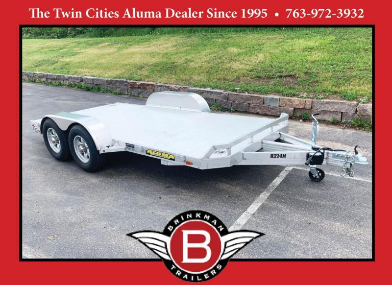Aluma 8214H Heavy Duty Aluminum Trailer - 9,900# GVWR!