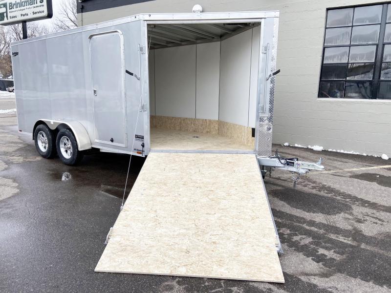 Lightning 7x19 Aluminum 2-Place Enclosed Snowmobile Trailer