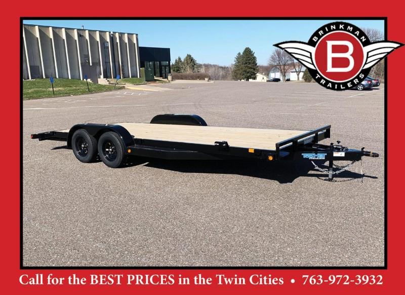 "Top Hat 83"" x 20' Car/Bobcat Hauler"