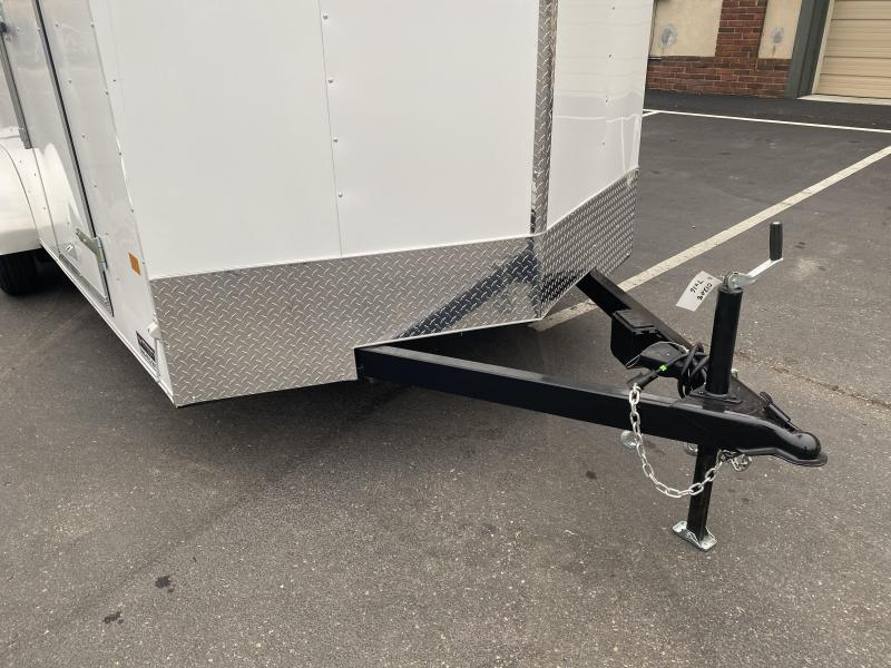"American Hauler 7x16 Enclosed Cargo Trailer - DBL Doors - 6'6"" Interior"