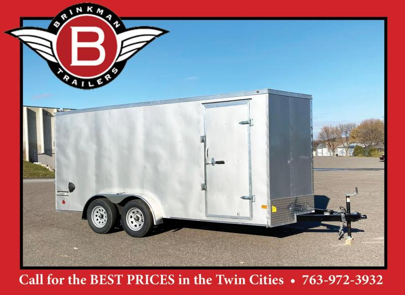 Haulmark 7 x 16 Enclosed Trailer with Rear Ramp - HOT PRICE!