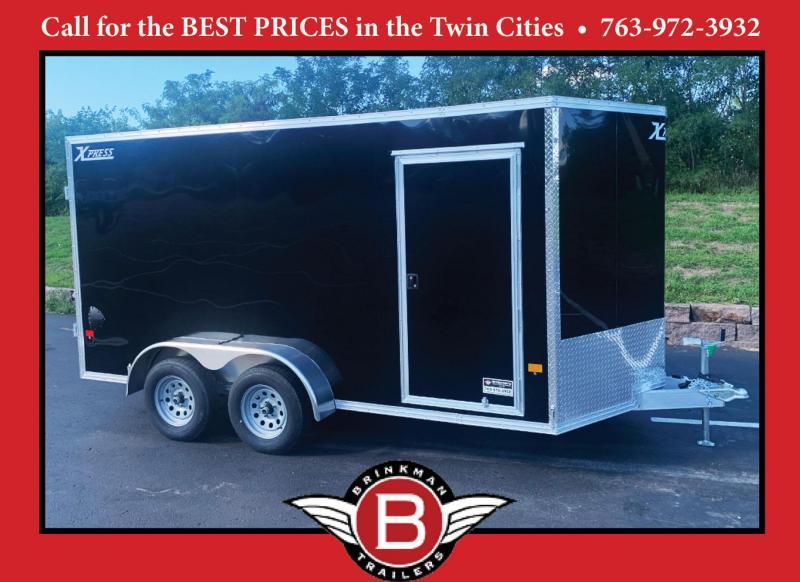 Premium High Country 7x14 Auminum Enclosed Cargo Trailer - DBL Rear Doors!