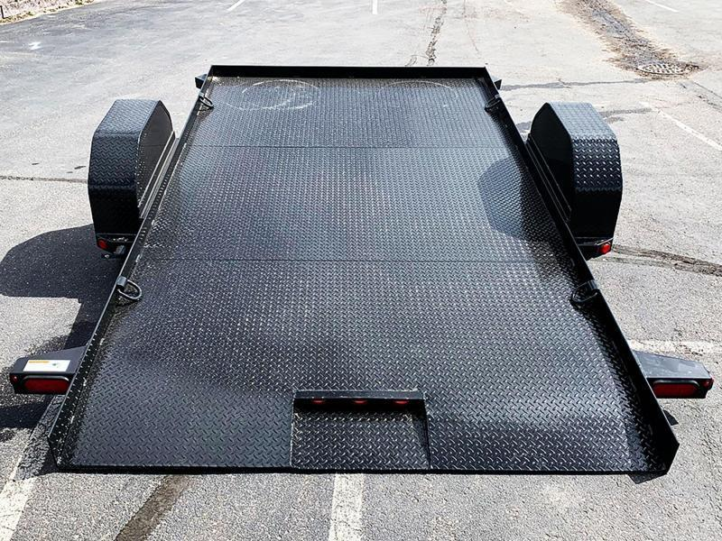 Heavy Duty Top Hat 80x12 Utility Tilt Bed - 5,200# GVWR!