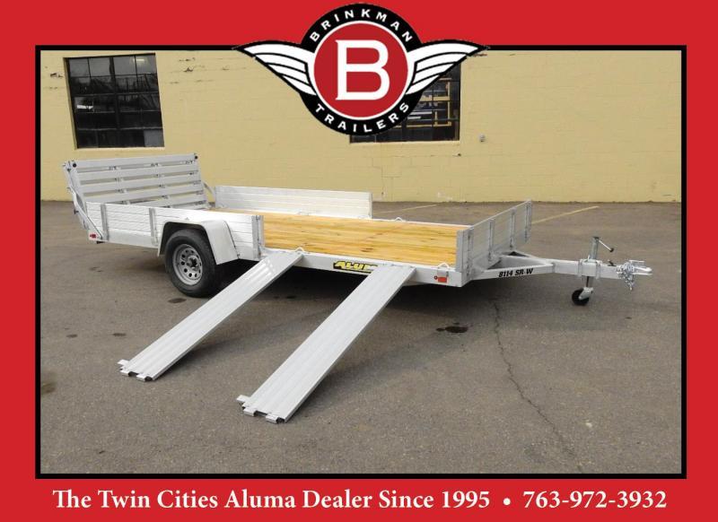 Aluma 8114W SR Utility Trailer - UTV/ATV