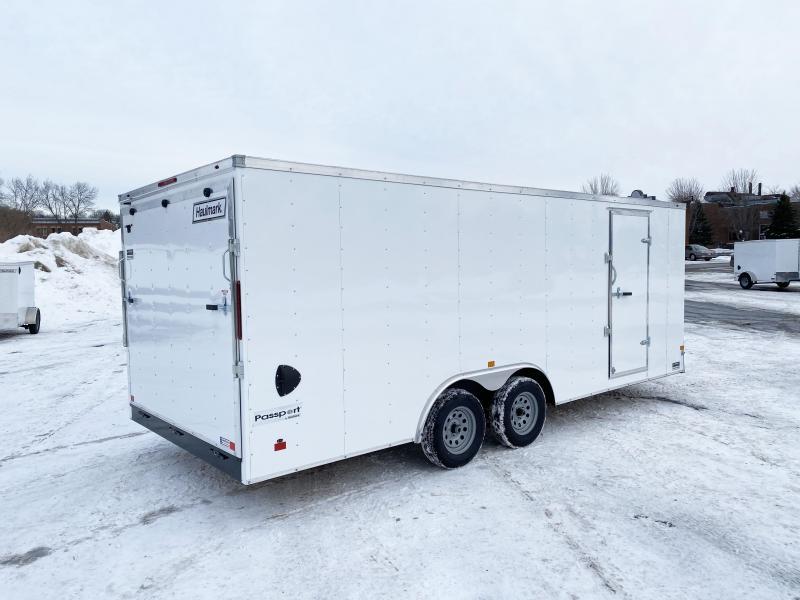 """Haulmark 8.5x20 Enclosed Trailer w/ Ramp -6'6"""" Interior - HOT PRICE!"""