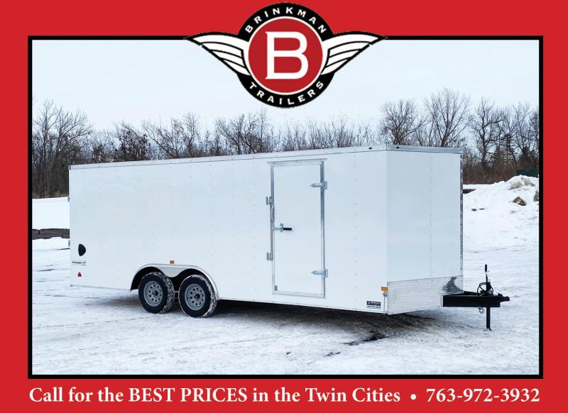 "Haulmark 8.5x20 Enclosed Trailer w/ Ramp -6'6"" Interior - HOT PRICE!"