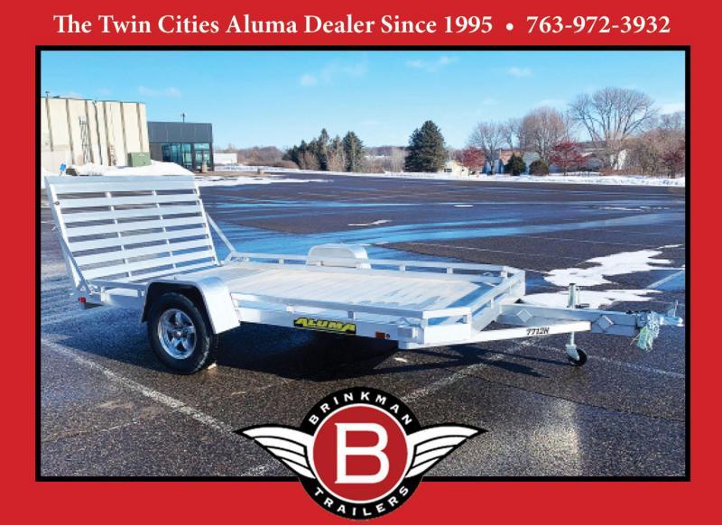 Aluma 7712H Aluminum Trailer