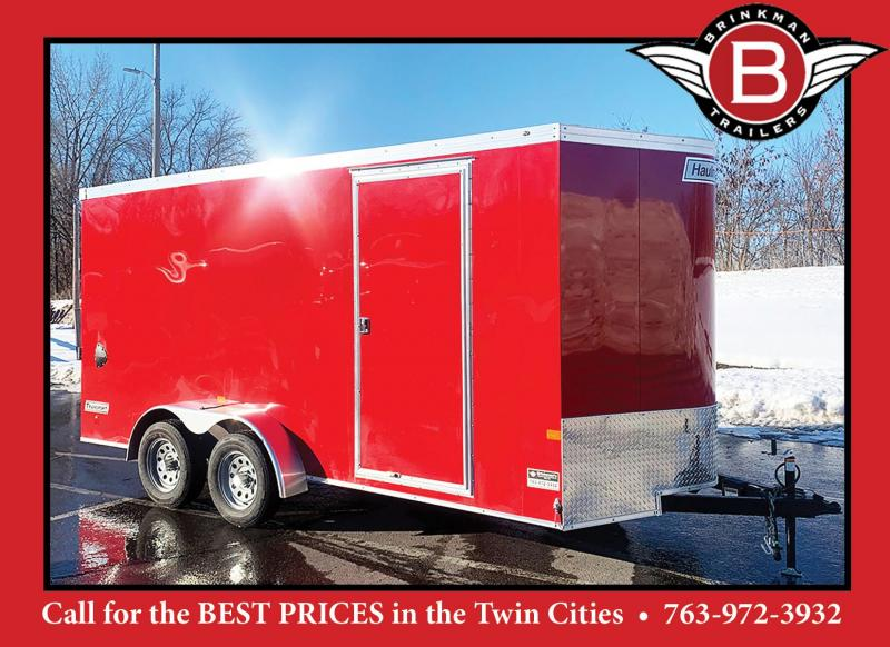 Premium Haulmark 7x16 Enclosed Trailer - 7ft Interior!