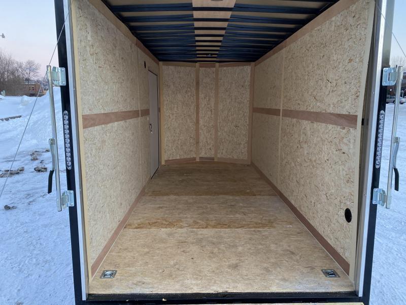 """Deluxe Haulmark 7x16 Enclosed Cargo Trailer - 7'6"""" Interior - UTV"""
