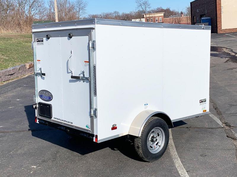 Continental 5x8 Enclosed Trailer - Rear Ramp!