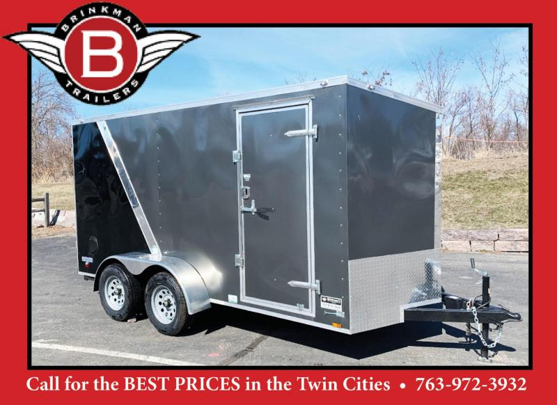 Continental 6x14 Enclosed Trailer - Rear Ramp!