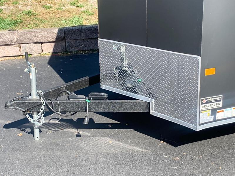 Deluxe American Hauler 7x16 Tandem Axle Enclosed Cargo Trailer - 7' Interior!