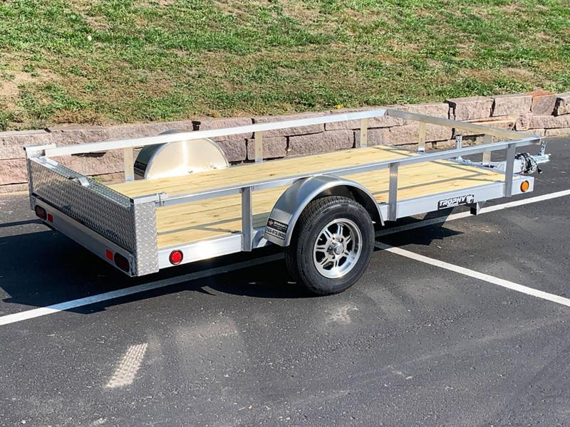 Quality Trophy 5x10 Aluminum Utility Trailer - Upgraded Rims!