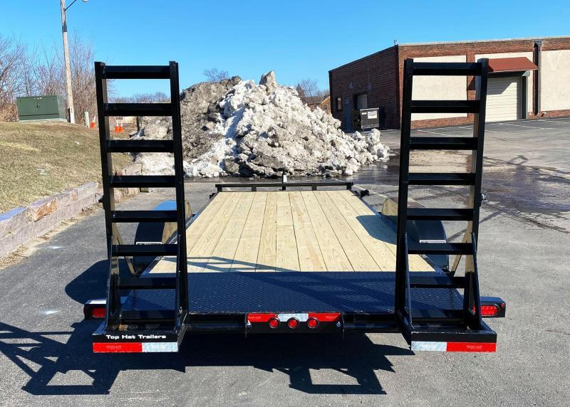 Top Hat 83 x 18 Car/Bobcat Hauler - 9990# GVWR