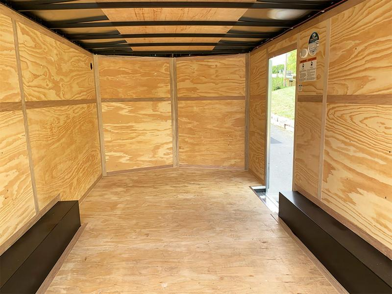Continental 8.5x16 Enclosed Cargo Trailer - Rear Ramp!