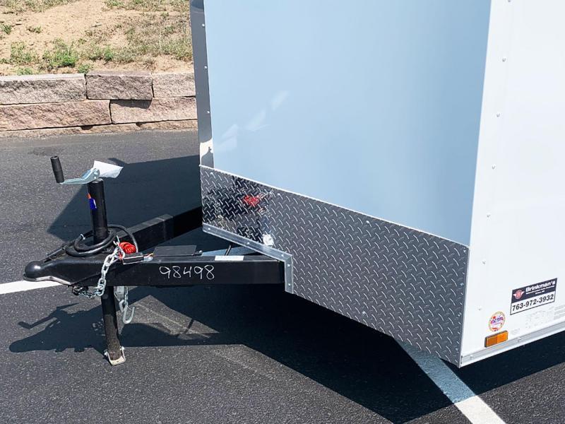 Continental Cargo 7x14 Enclosed Trailer - Ladder Racks - Dbl Rear Door!