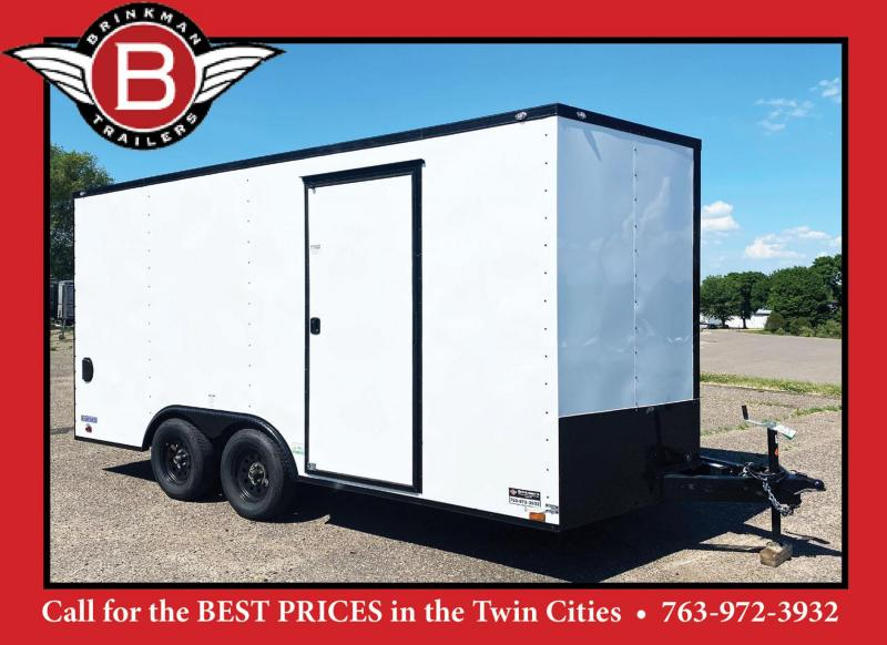 Continental 8.5x16 Enclosed UTV Trailer - Black Out Package!