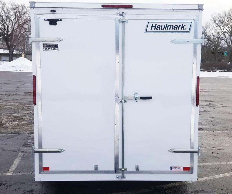 Haulmark 7x16 Enclosed Cargo Trailer -Dbl Rear Doors - 7' Interior