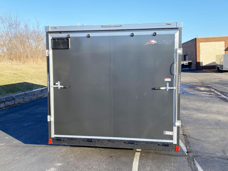 Deluxe American Hauler 8.5x16 Enclosed Cargo Trailer - 7' Interior