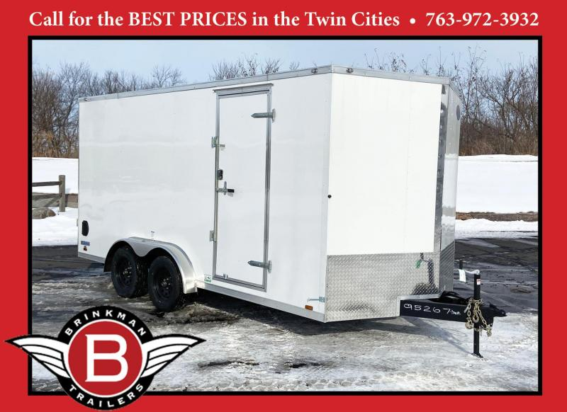 Continental 7.5x16 Enclosed Trailer - 7'Interior -Ramp- UTV