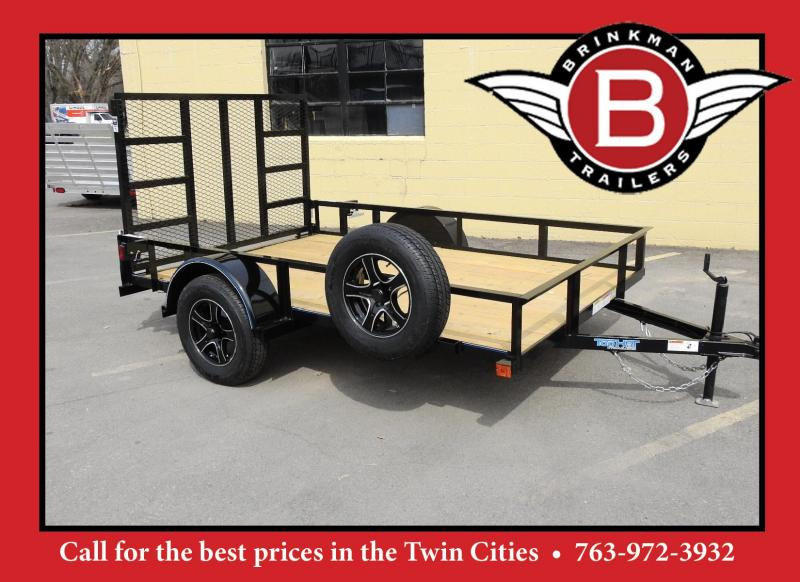 """Top Quality Top Hat 77"""" x 10' Utility Trailer w/ Ramp - GREAT VALUE"""