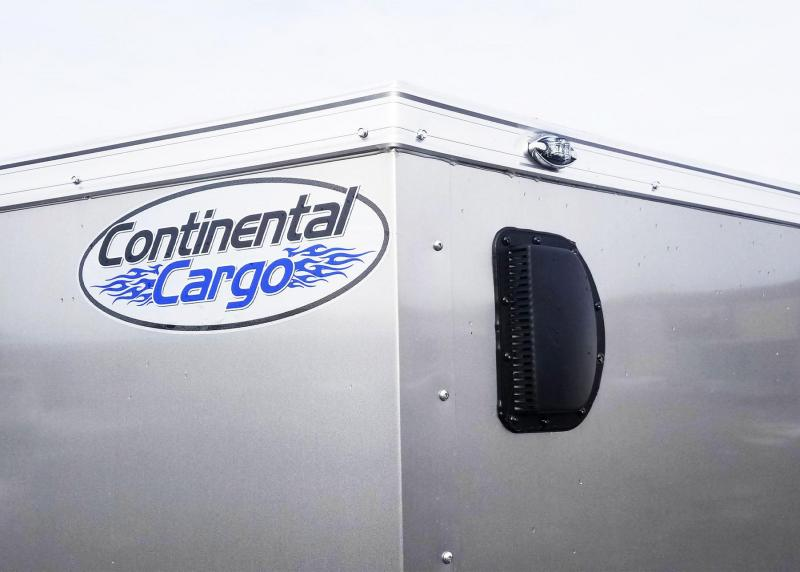 Continental Cargo 5 x 8 V-Nose Enclosed Contractor Trailer - Fantastic Buy!
