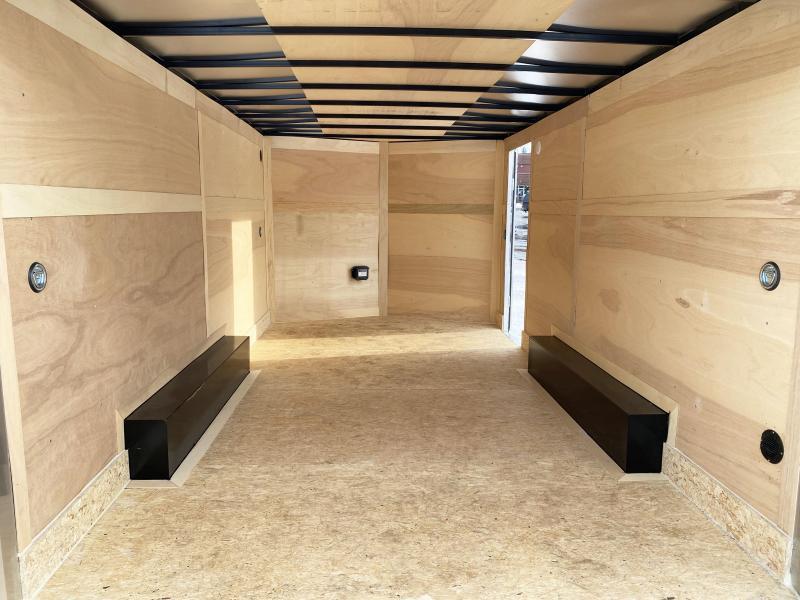 """Haulmark 8.5x16 Enclosed Trailer w/ Ramp -6'6"""" Interior - HOT PRICE!"""