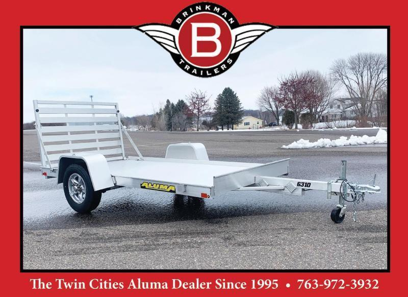 Aluma 6310 Open Utility Trailer - Full Ramp - All Purpose!