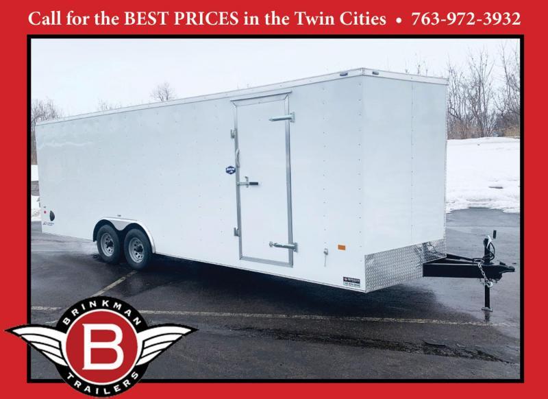 American Hauler 8.5x24 Enclosed Cargo Car Trailer- 7ft Interior!