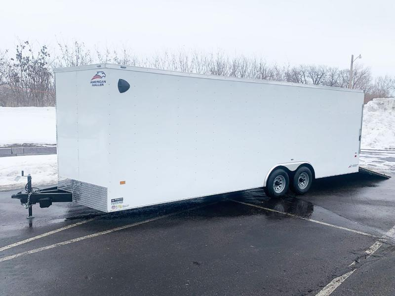 Haulmark 8.5x24 Enclosed Cargo Car Trailer - Rear Ramp