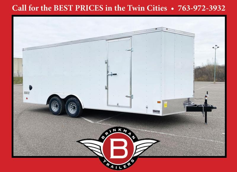 2021 Haulmark 8.5x20 Enclosed Cargo Trailer 7' Interior - 10K GVWR