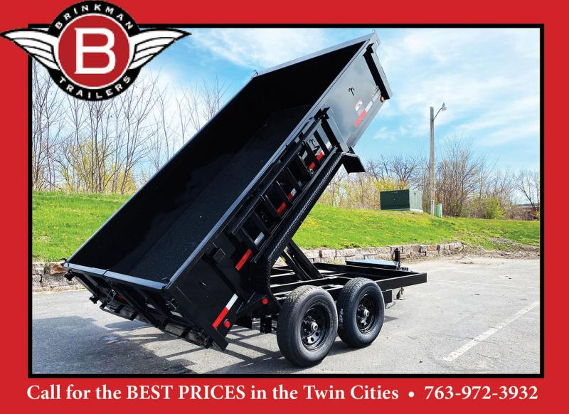 Top Quality Top Hat 77x12 Dump Trailer - 9,990# GVWR w/Scissor Lift!